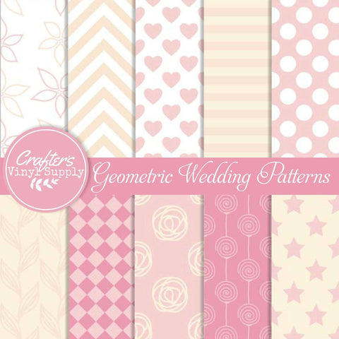 Geometric Wedding Patterns
