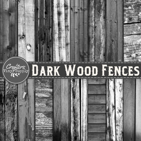 Dark Wood Fence Textures