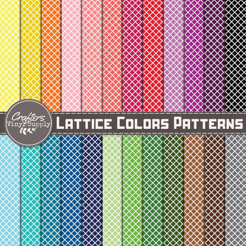 Lattice Colors Patterns