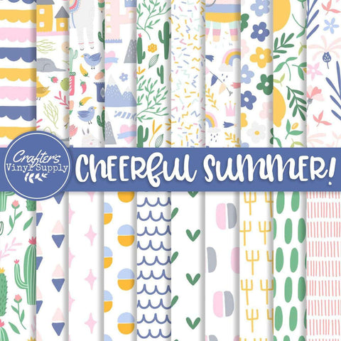 Cheerful Summer Patterns