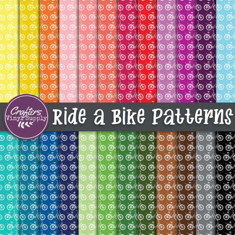 Ride a Bike Patterns