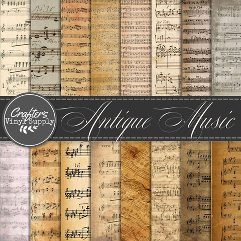 Antique Music Patterns