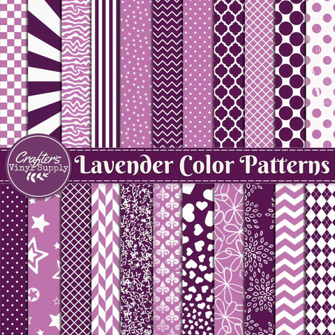 Lavender Color Patterns