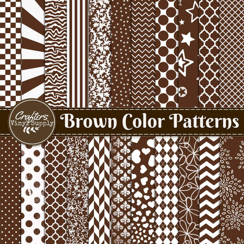 Brown Color Patterns