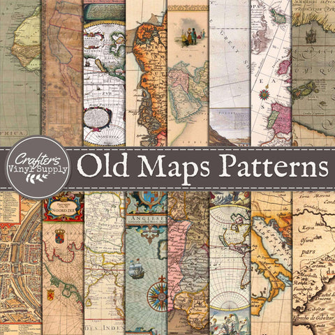 Old Maps Pattern