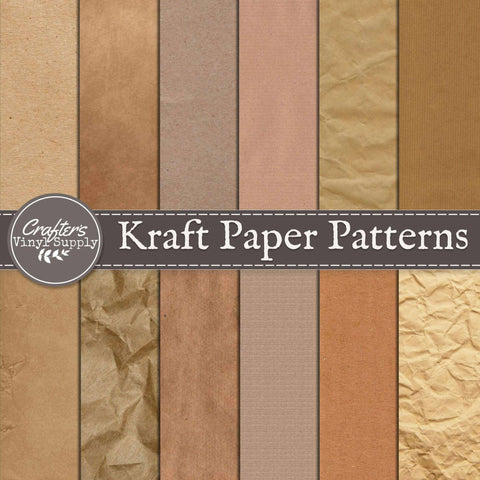 Kraft Paper Patterns