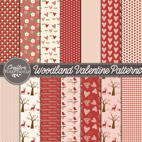 Woodland Valentine Patterns