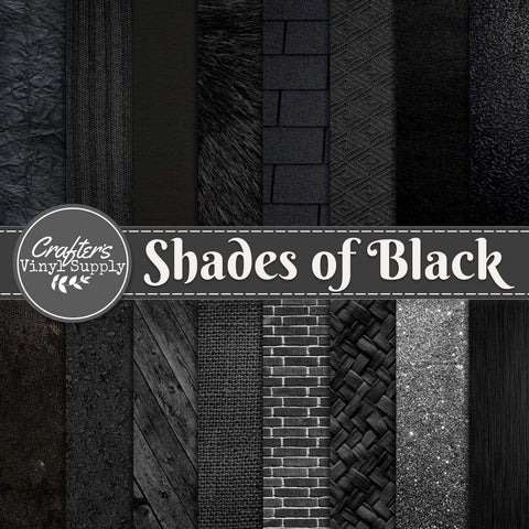 Shades of Black Textures