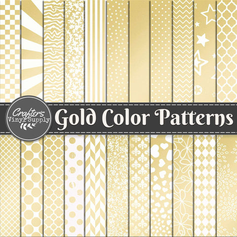 Gold Color Patterns