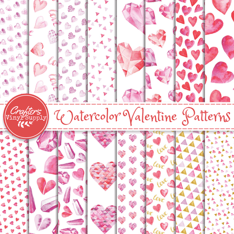Lovely Hearts Patterns