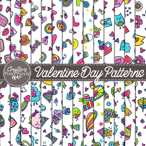 Valentine Day Patterns