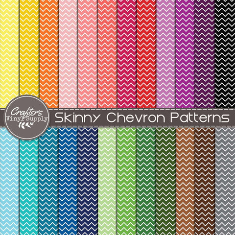 Skinny Chevron Patterns