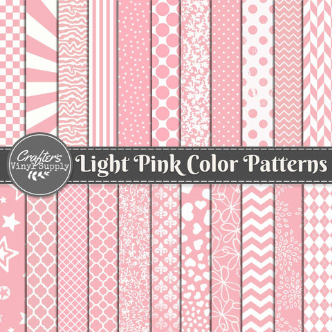 Light Pink Color Patterns