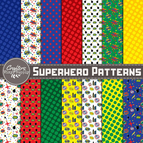 Superhero Patterns