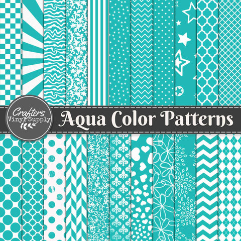 Aqua Color Patterns