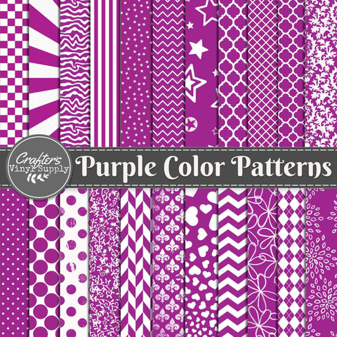Purple Color Patterns