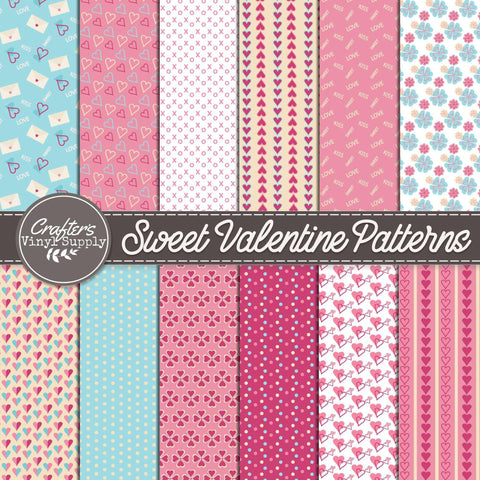 Sweet Valentine Patterns - Pack 2