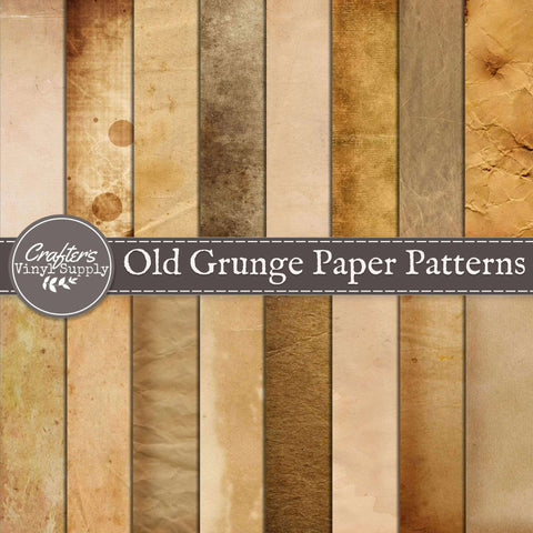 Old Grunge Paper Patterns
