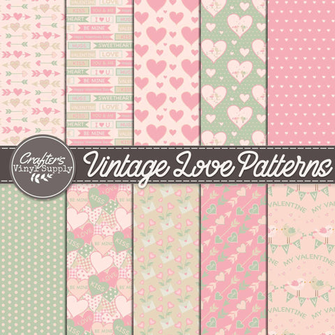 Vintage Love Patterns