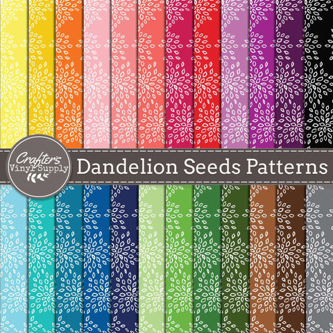 Dandelion Seeds Patterns