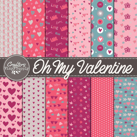 Oh My Valentine Patterns