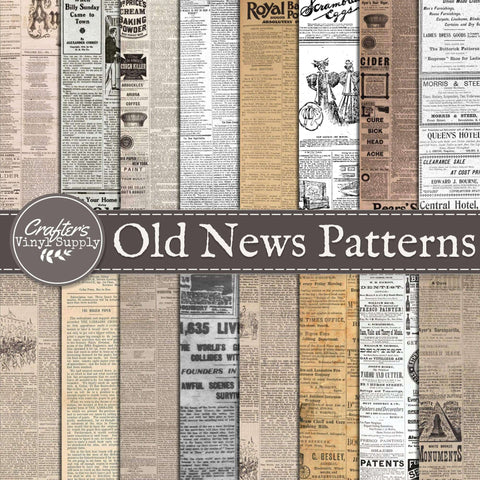 Old News Patterns