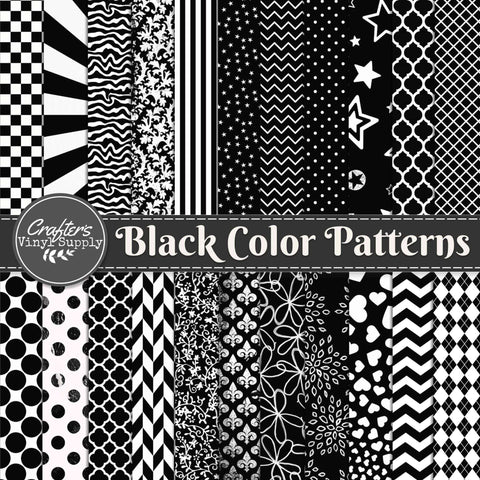 Black Color Patterns