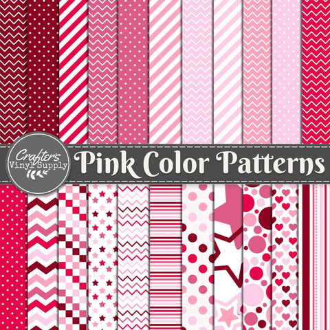 Pink Color Patterns
