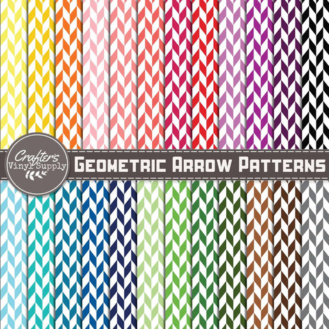 Geometric Arrow Patterns