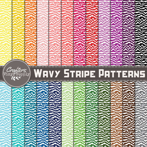 Wavy Stripes Patterns