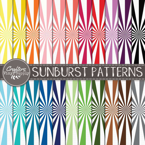 Sunbursts Patterns
