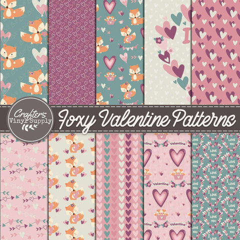 Foxy Valentine Patterns