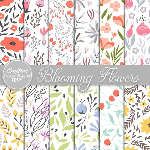 Blooming Flowers Patterns