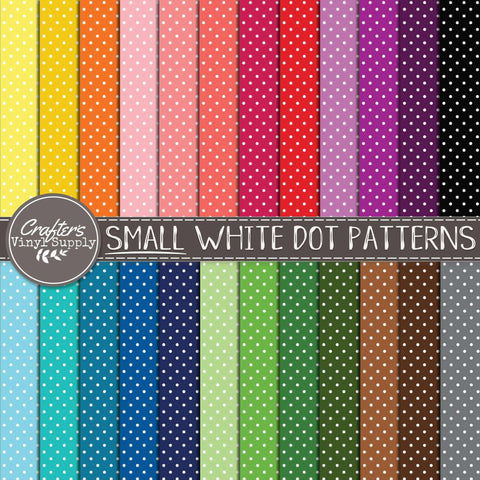 Small White Dot Patterns