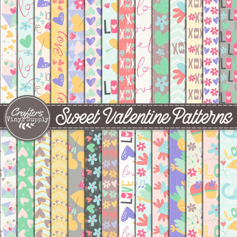 Sweet Valentine Patterns