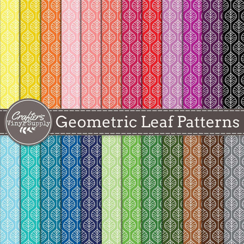 Geometric Leaf Patterns