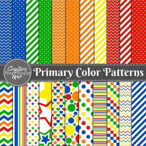 Primary Color Patterns