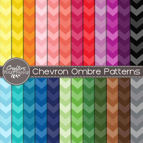 Chevron Ombre Patterns
