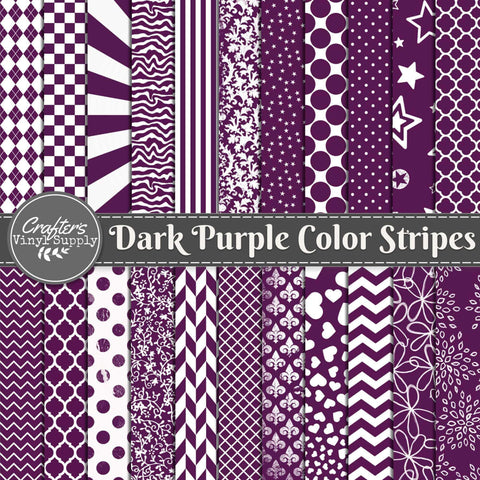 Dark Purple Color Patterns