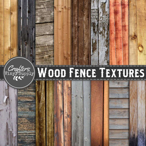 Wood Fence Textures