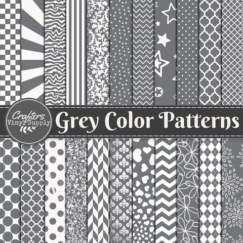 Gray Color Patterns