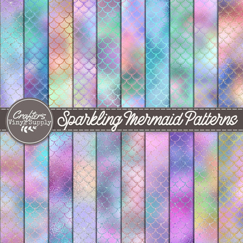 Sparkling Mermaid Patterns