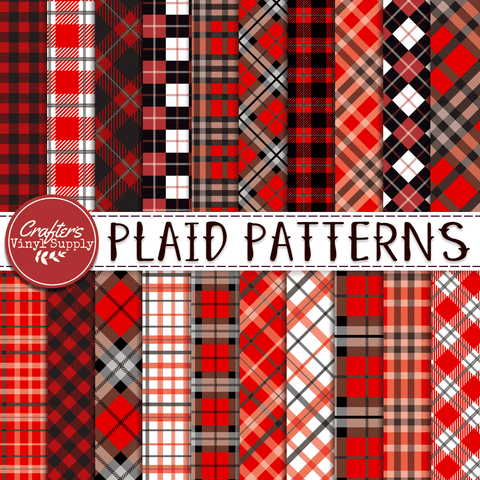 Red Plaid Patterns