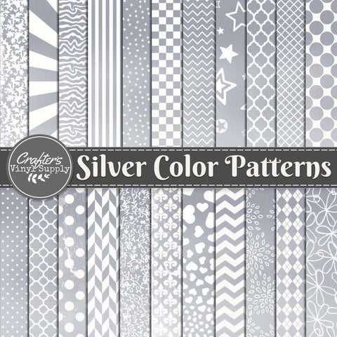 Silver Color Patterns