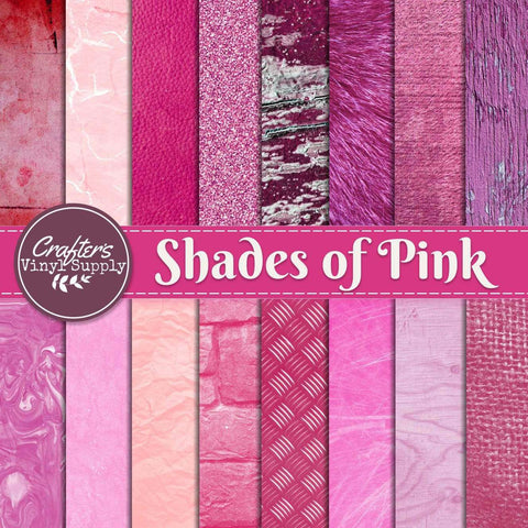 Shades of Pink Textures