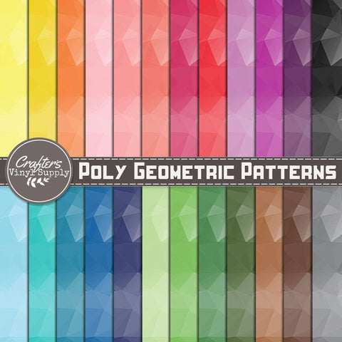 Poly Geometric Patterns