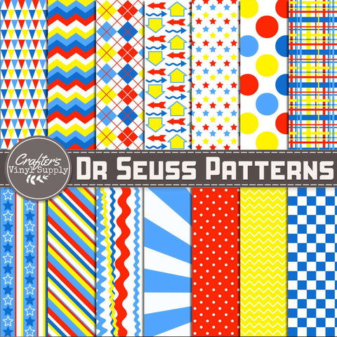 Dr Seuss Patterns