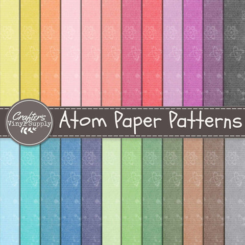 Atoms Paper Patterns