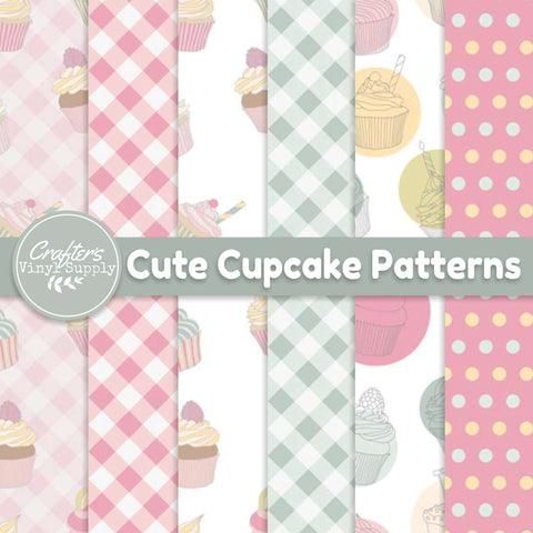 Cute Cupcake Patterns