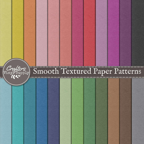 Smooth Textured Paper Patterns